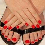 Moda: i piedi da spiaggia 2012