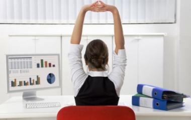 Dimagrire in ufficio? Si può con il contro-fitness